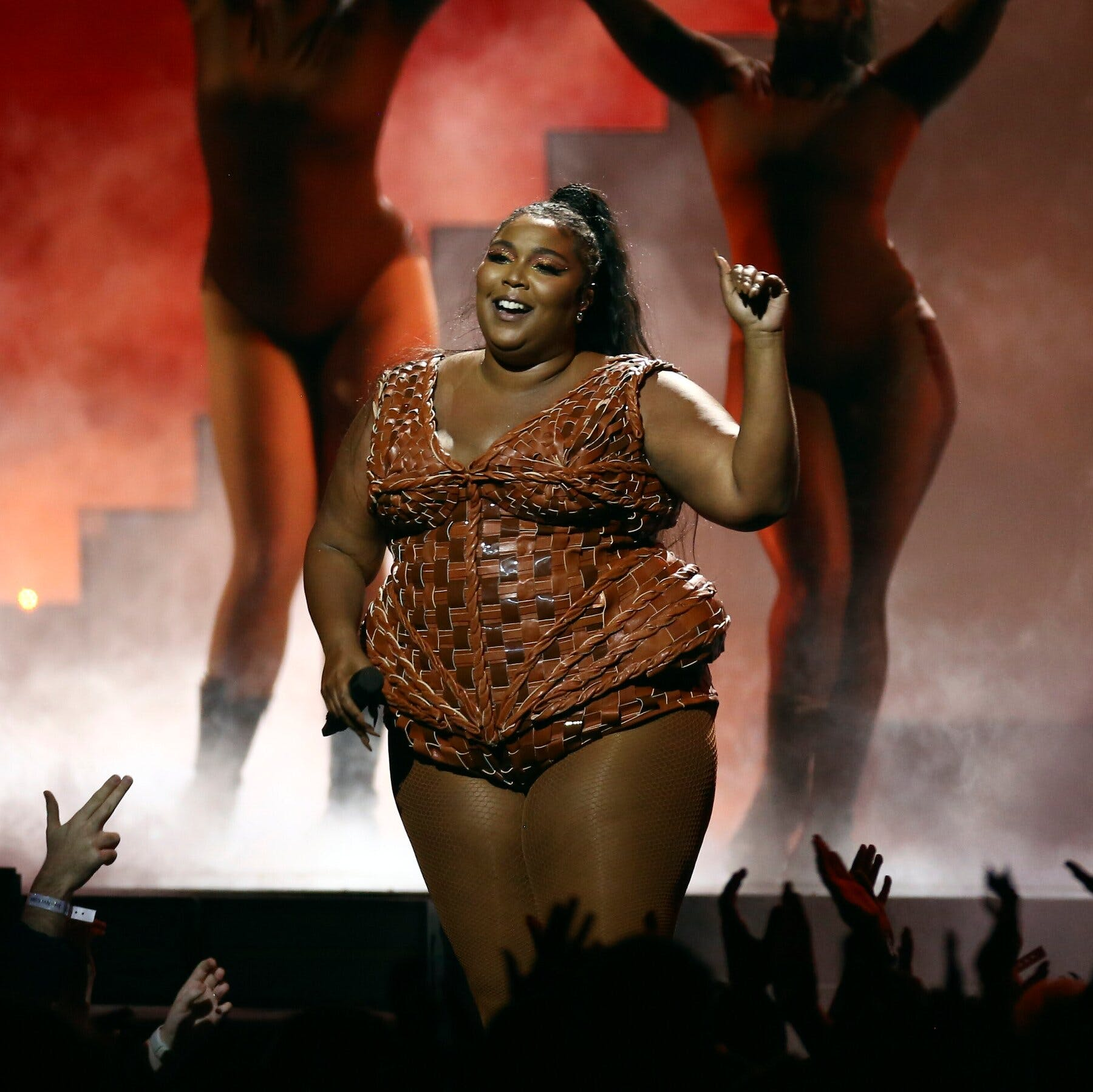 lizzo on stage