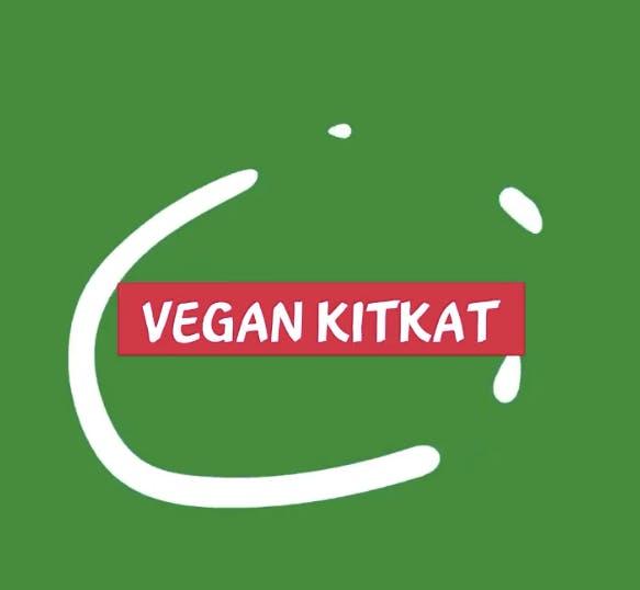 vegan kitkat message