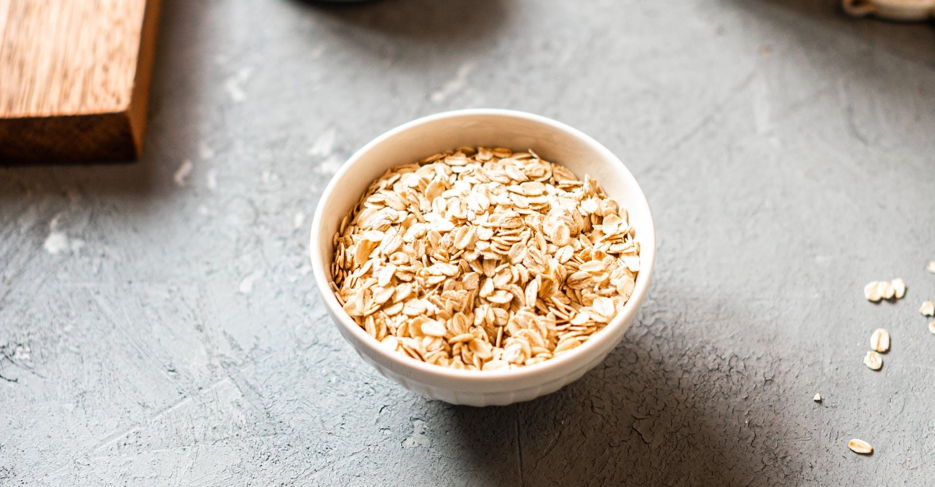 bowl of oats