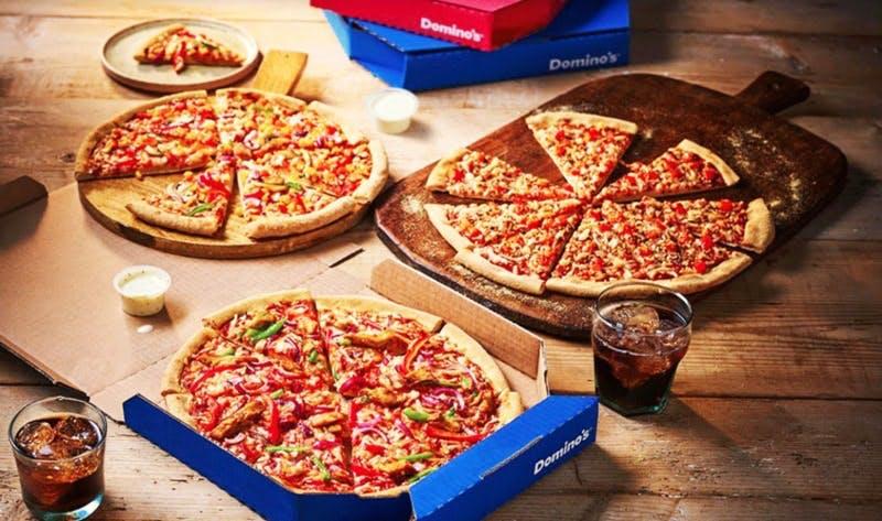 dominos pizza spread