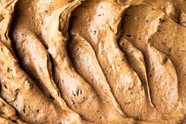 chocolate ice cream swirl
