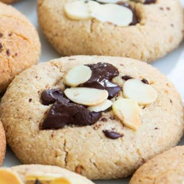5-Ingredient Almond Butter Cookies image