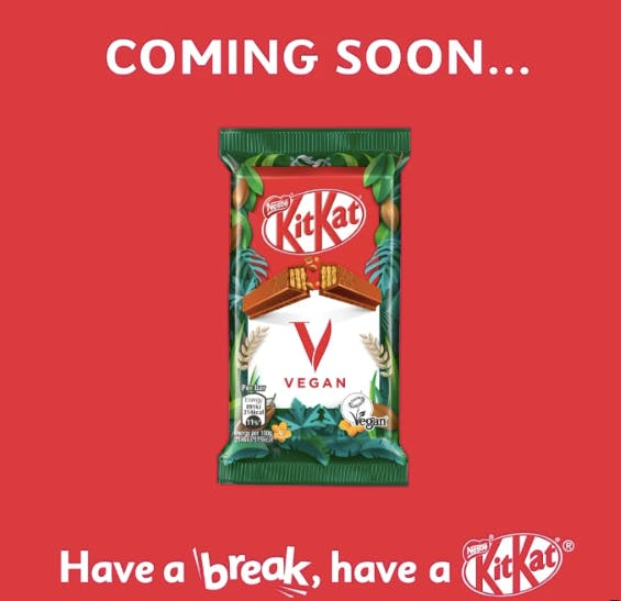coming soon kitkat message