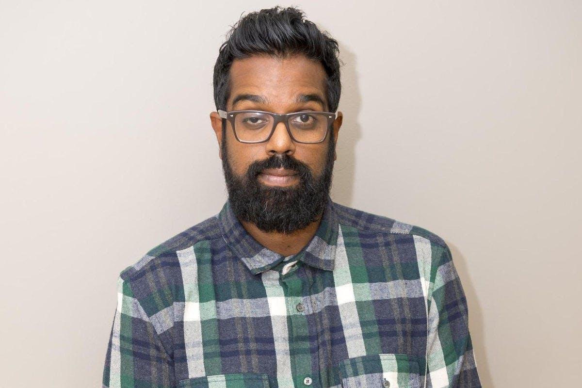 Romesh Ranganathan check shirt