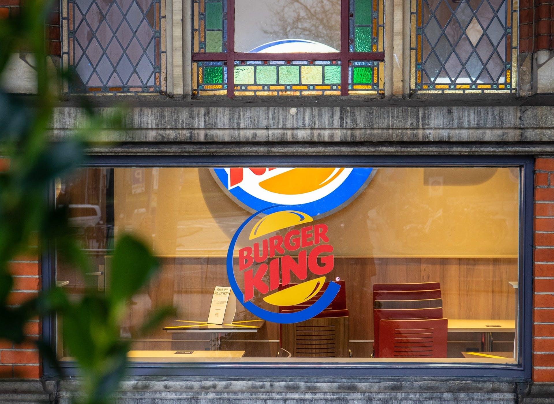 burger king shop
