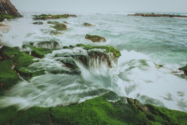 water rushing
