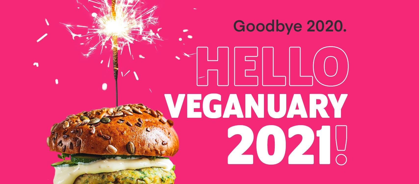 veganuary 2021 banner