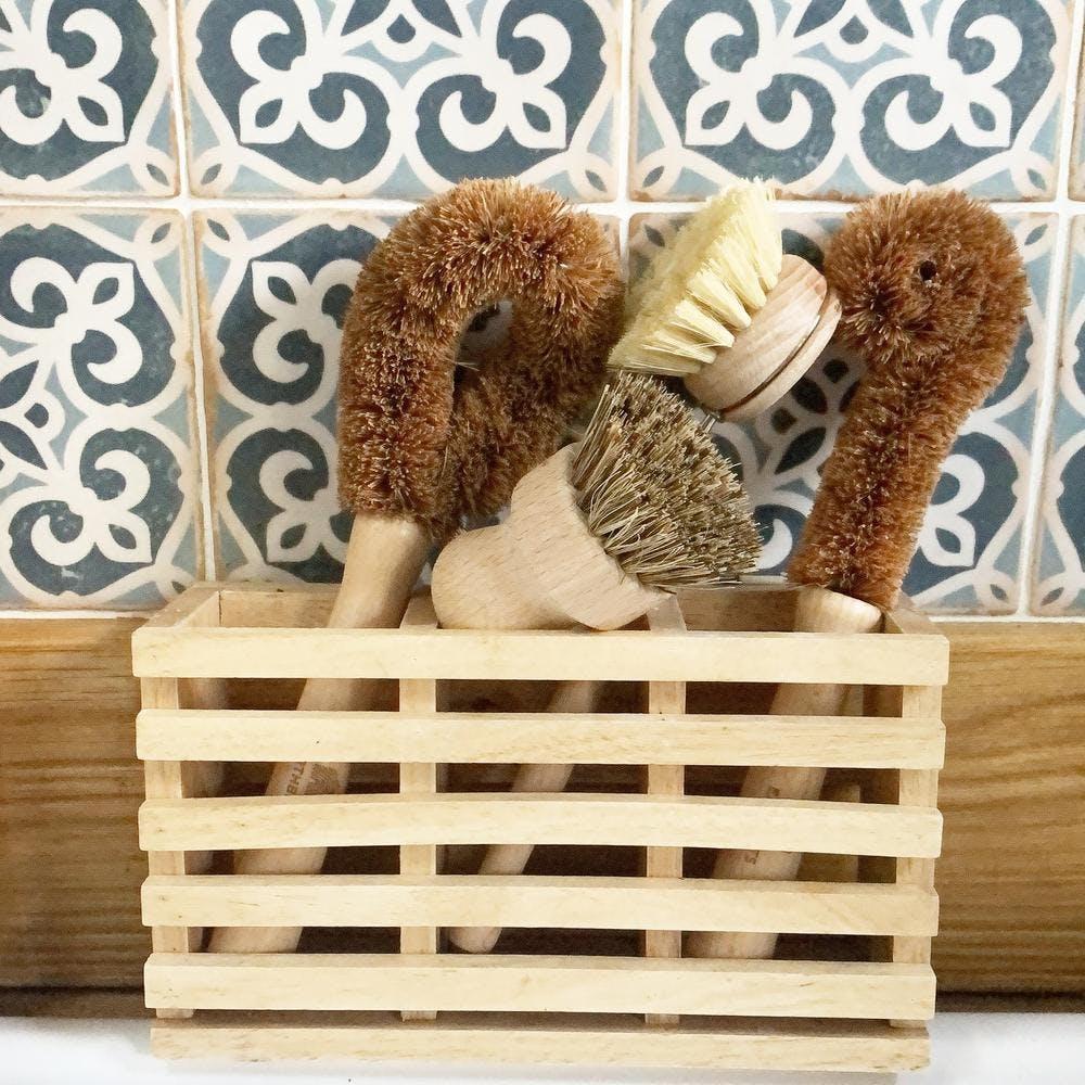 eco dish scrubbing set