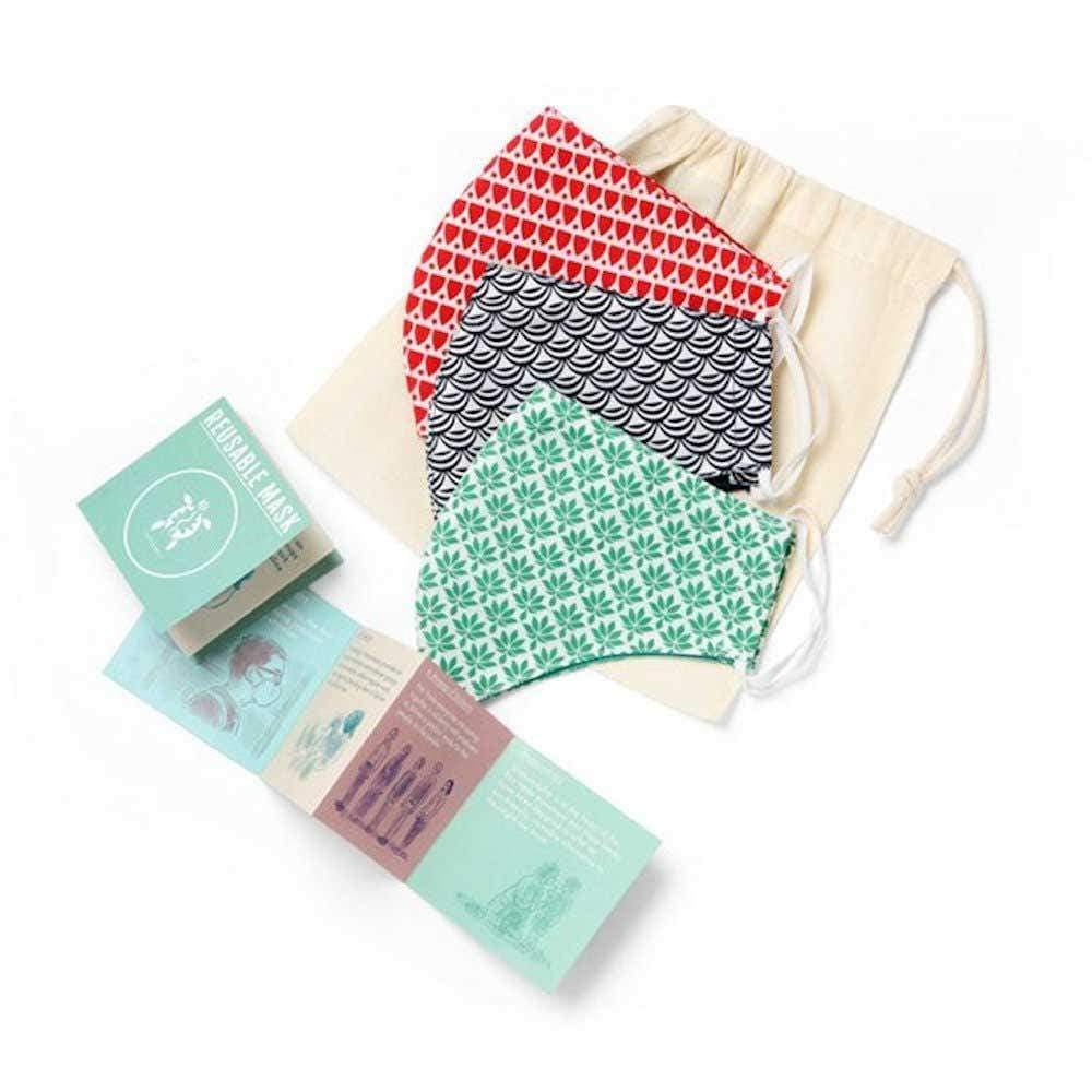 colourful reusable face masks