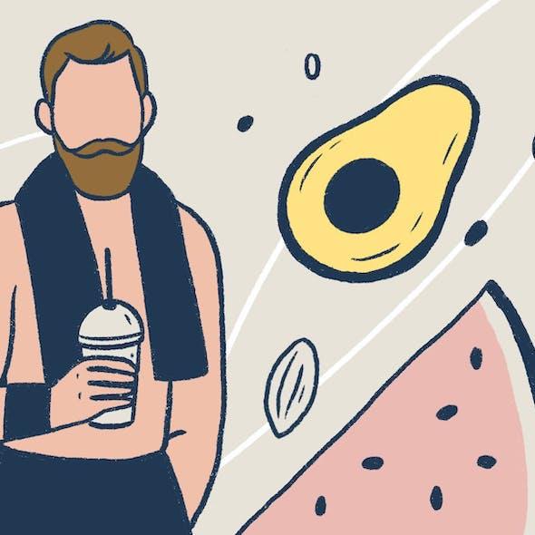 Food Diaries: Tyler the Vegan Wrestler image