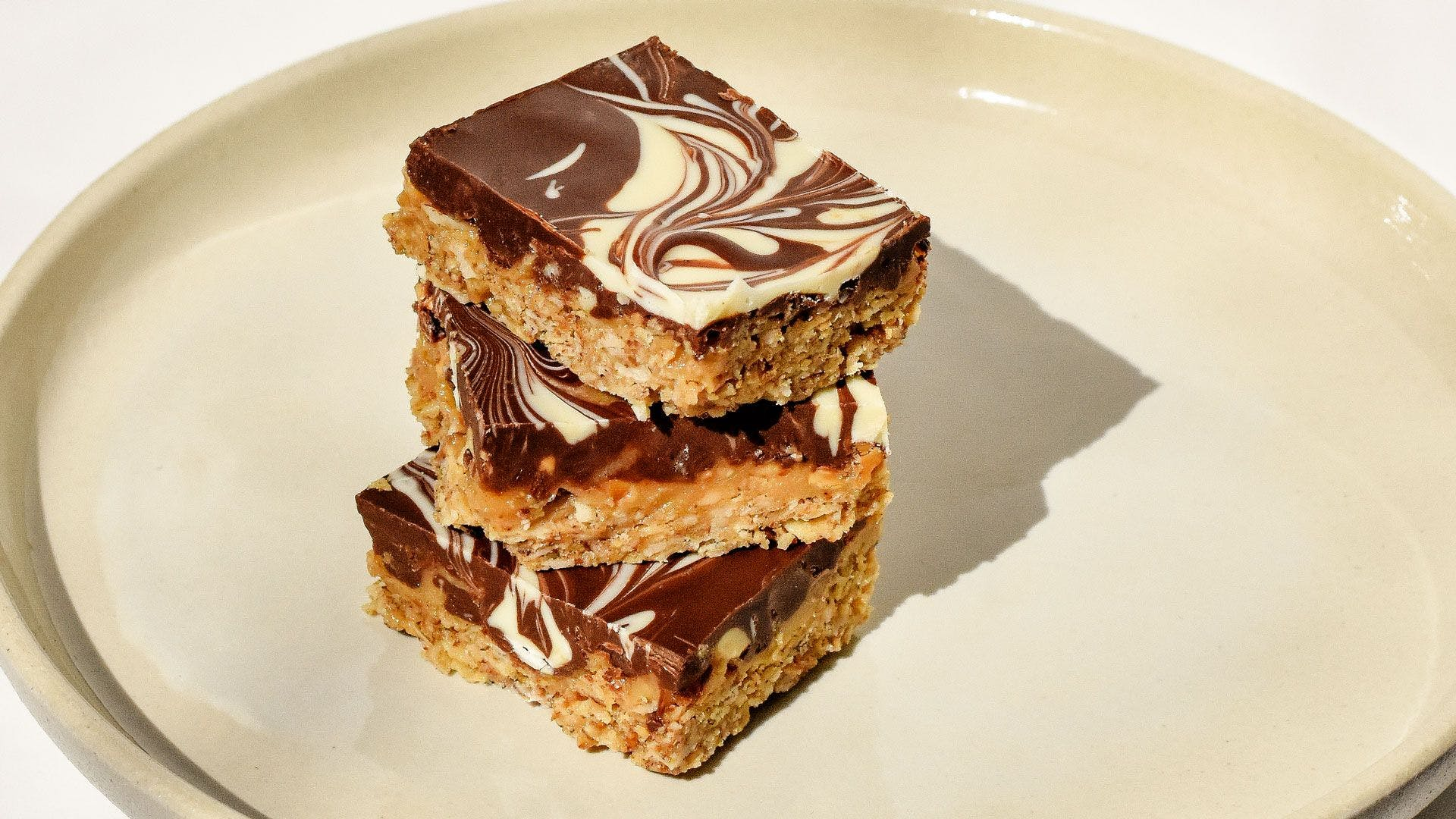 a stack of millionaires shortbread