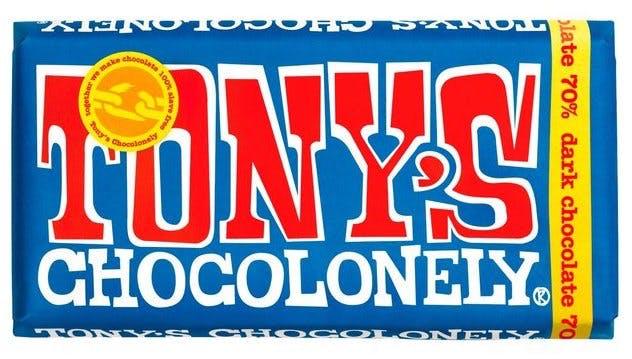 tonys chocolonely vegan fairtrade chocolate