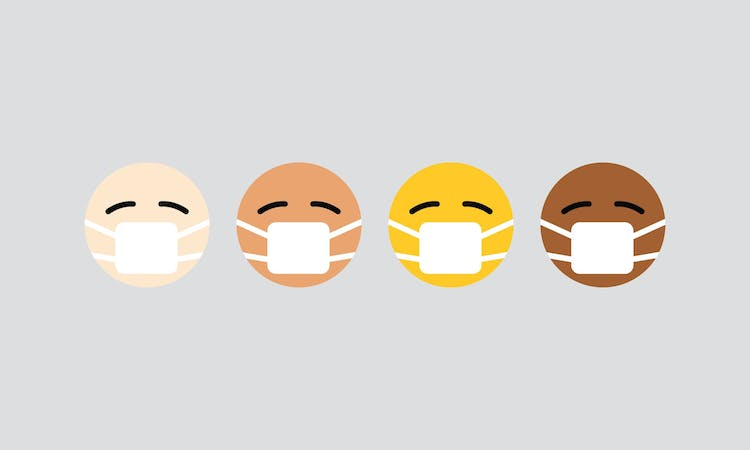emojis with face masks