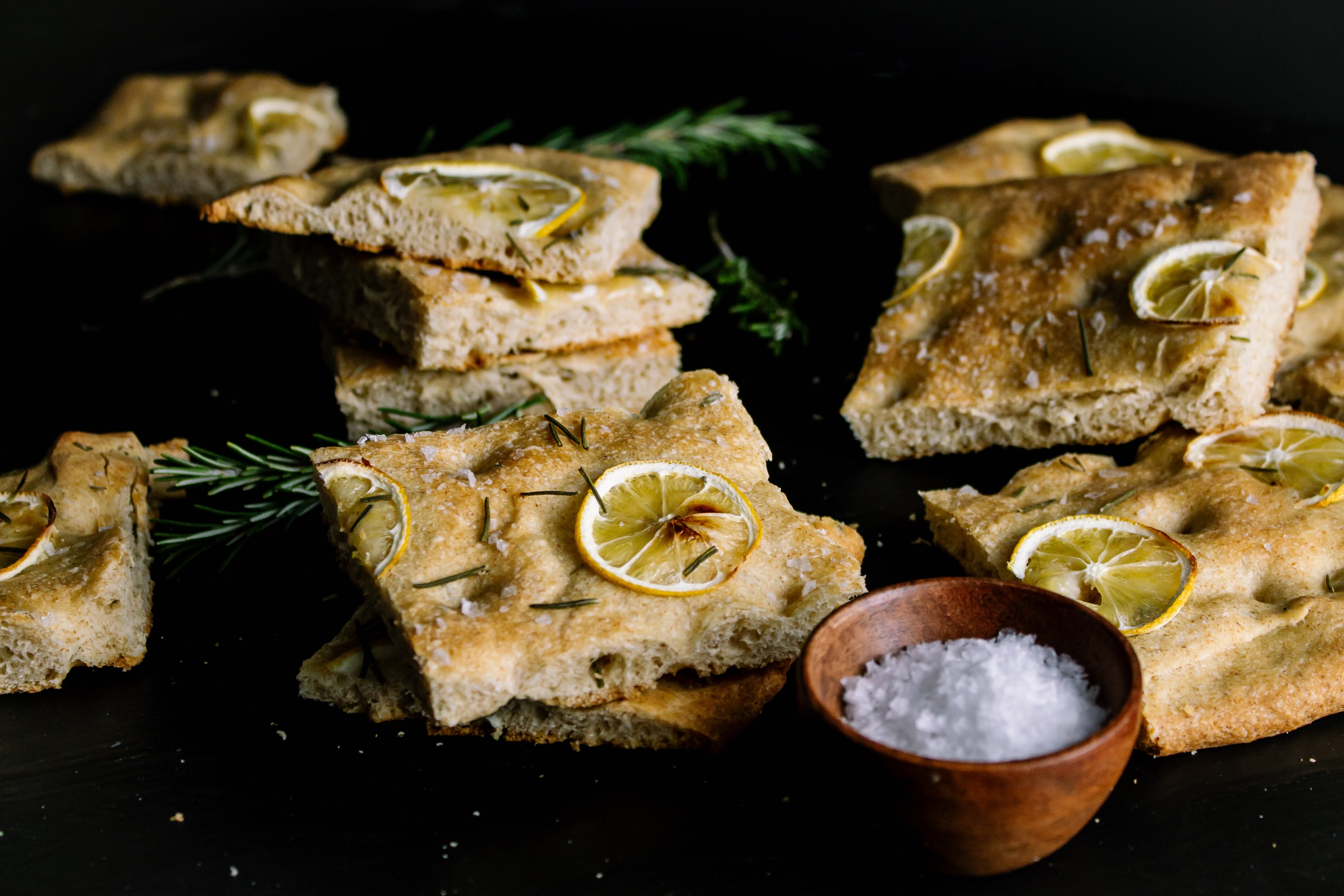 Foccacia with Rosemary