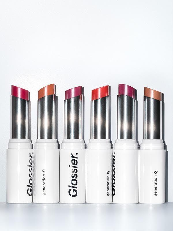 glossier lipsticks
