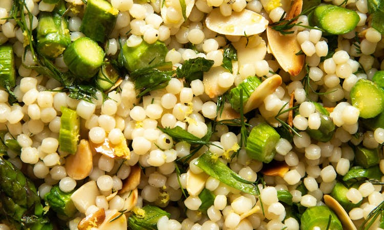 Asparagus Grain Salad  image
