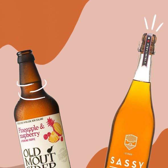 Vegan Shopping Basket – The Best Vegan Cider image