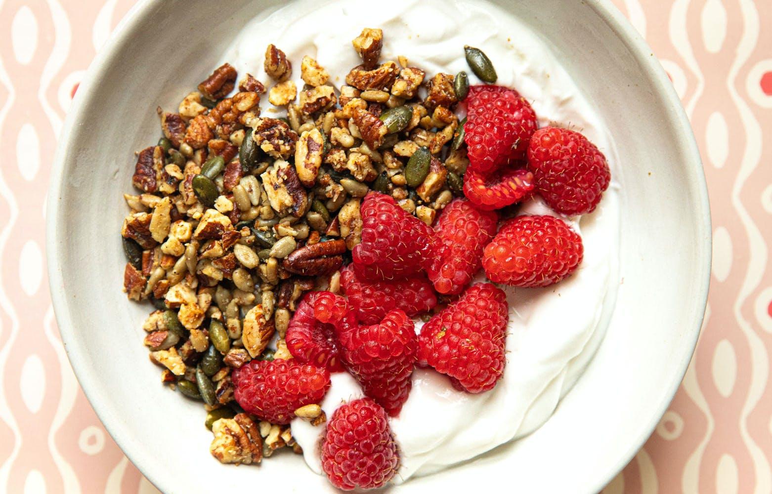 vegan coconut yoghurt