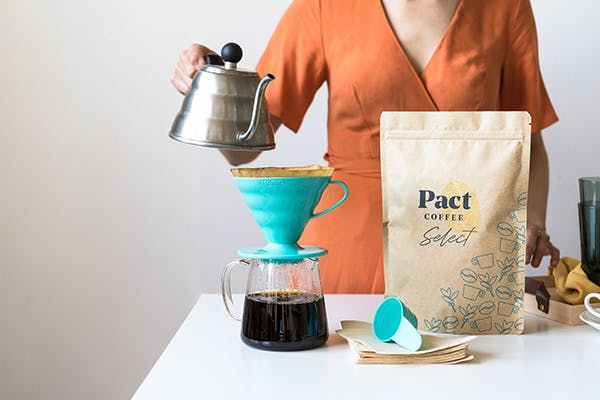 pour over pact coffee