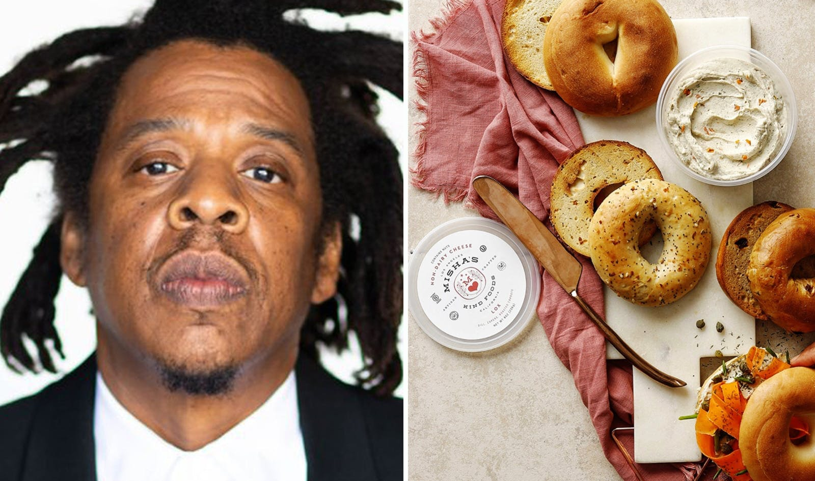 jay-z and vegan cheese