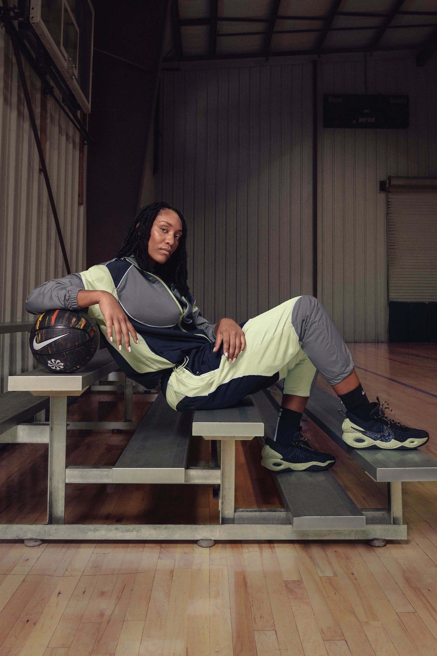A'ja Wilson in Nike