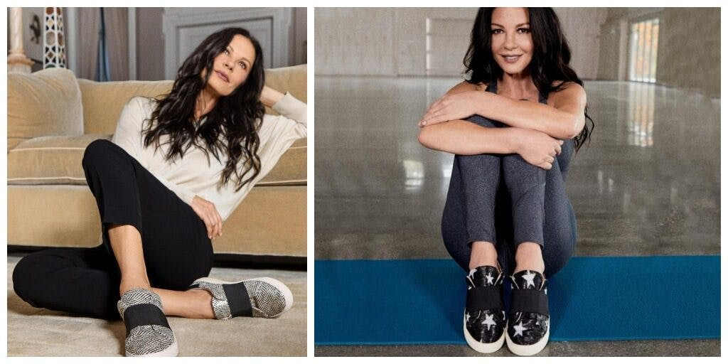 Zeta Jones modelling