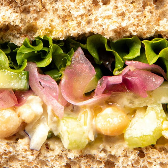 Vegan Chickpea Tuna Sandwich