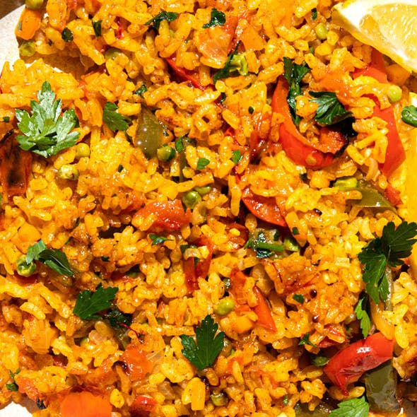 Vegan Paella image