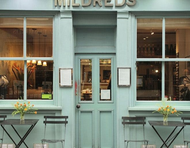 front of Mildred's