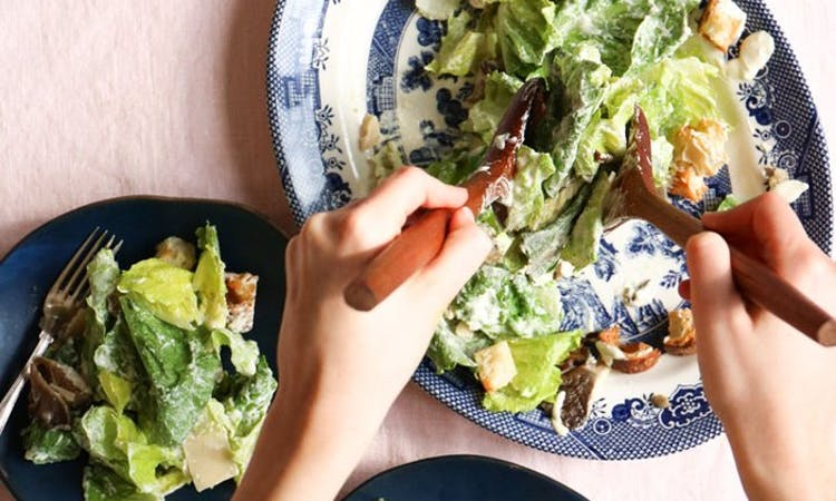 Vegan Caesar Salad image