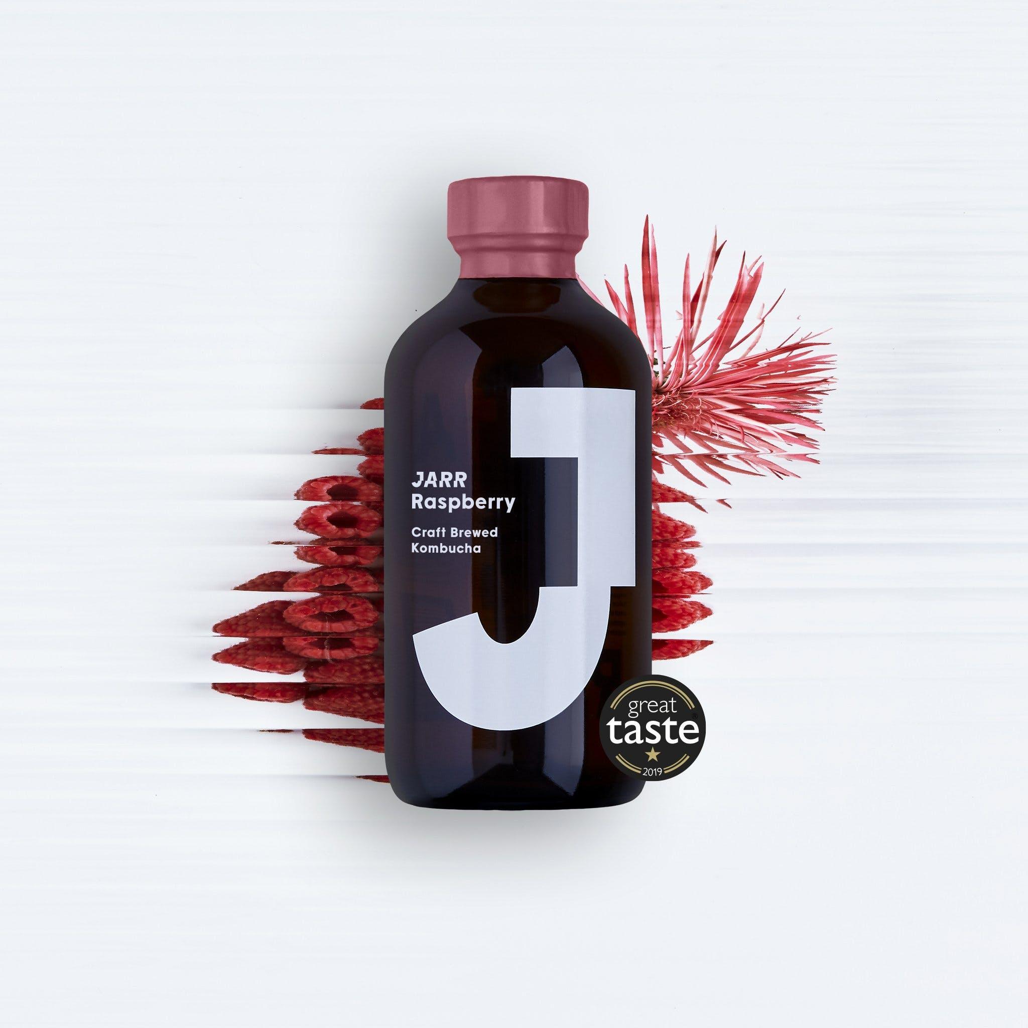bottle of kombucha
