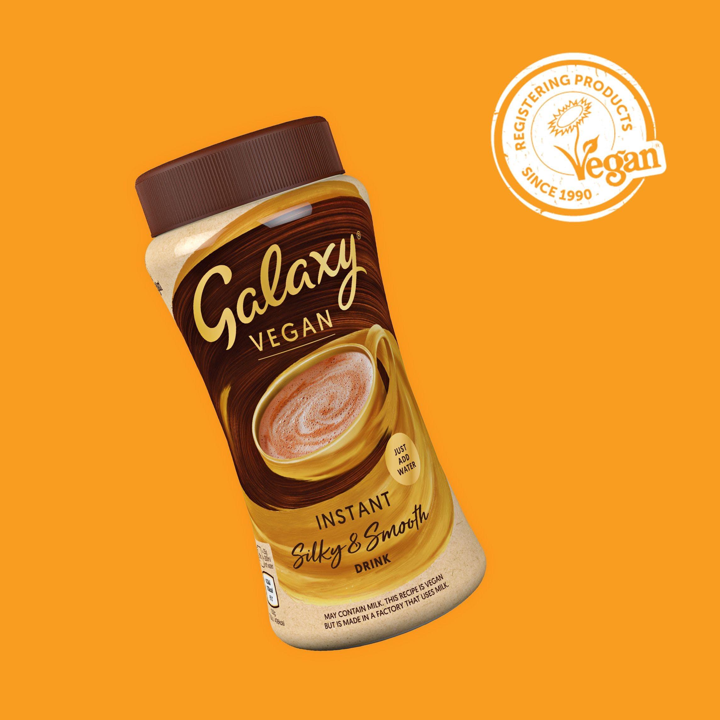 galax vegan hot chocolate powder