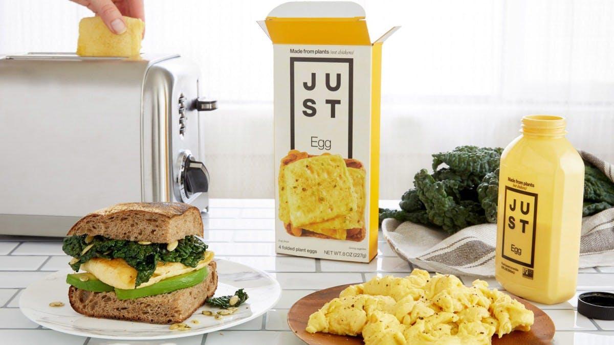 Eat Just packaging