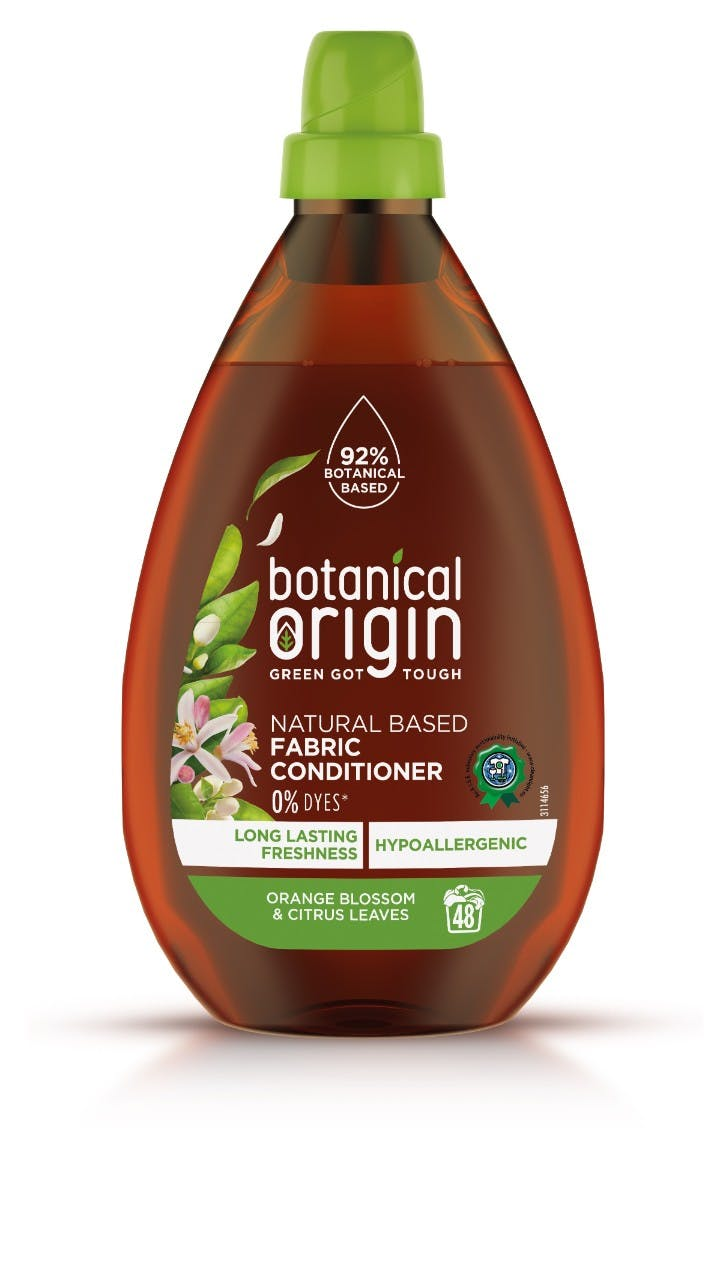 botanical origin cleaning bottle