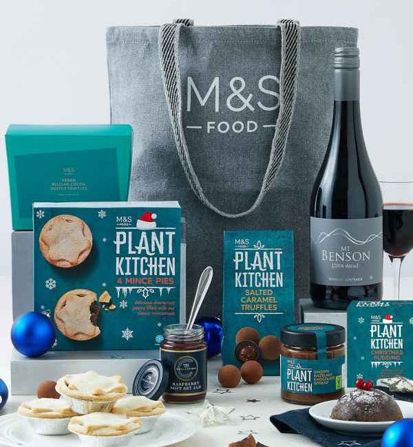 m&s vegan hamper
