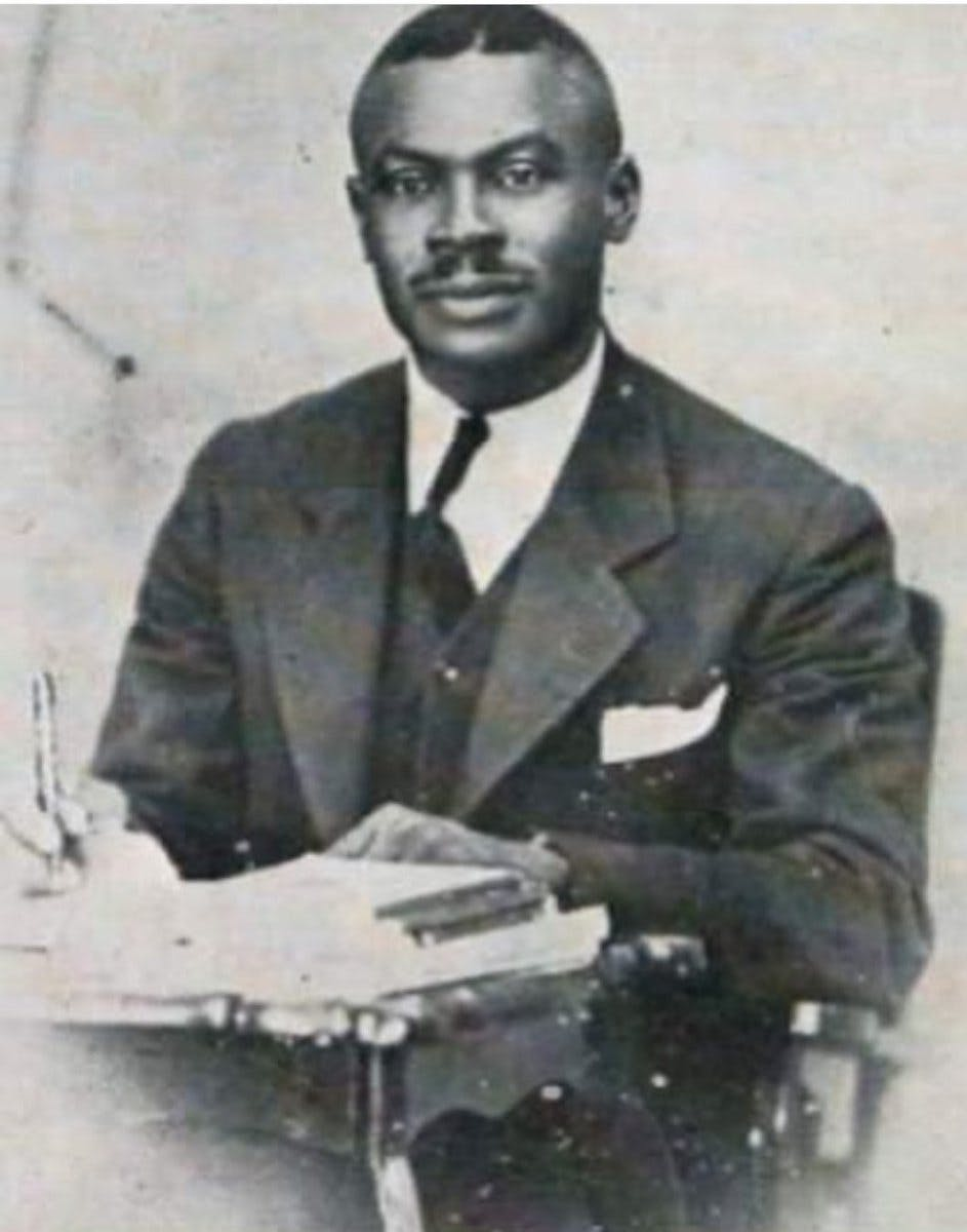 Leonard Howell the first rasta gong gyangunguru maragh