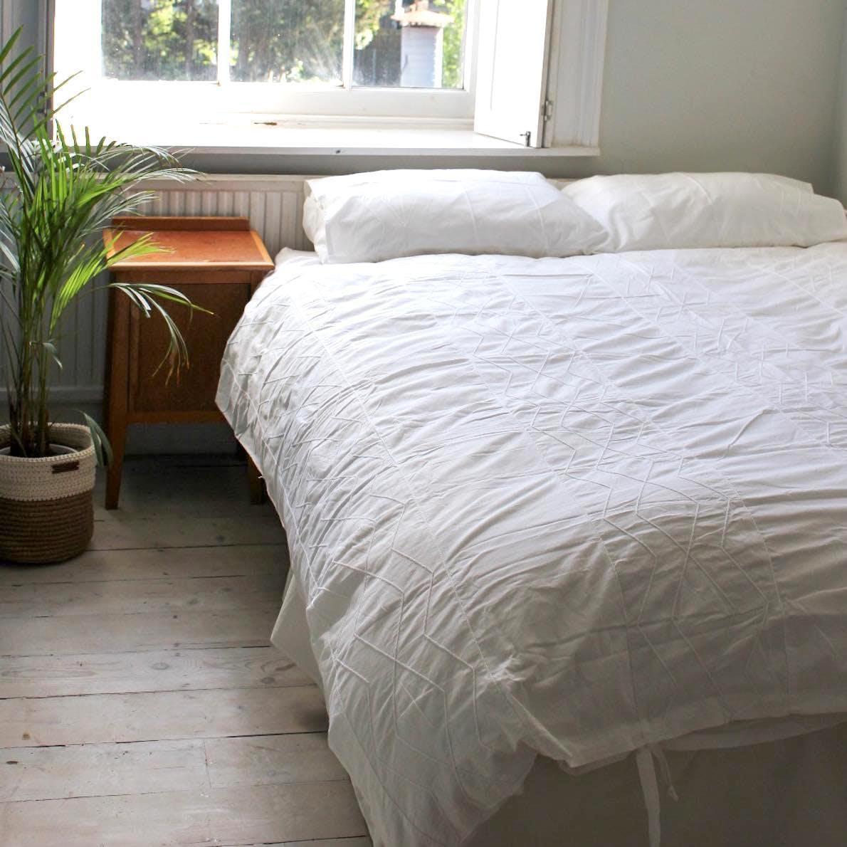 a bedding set