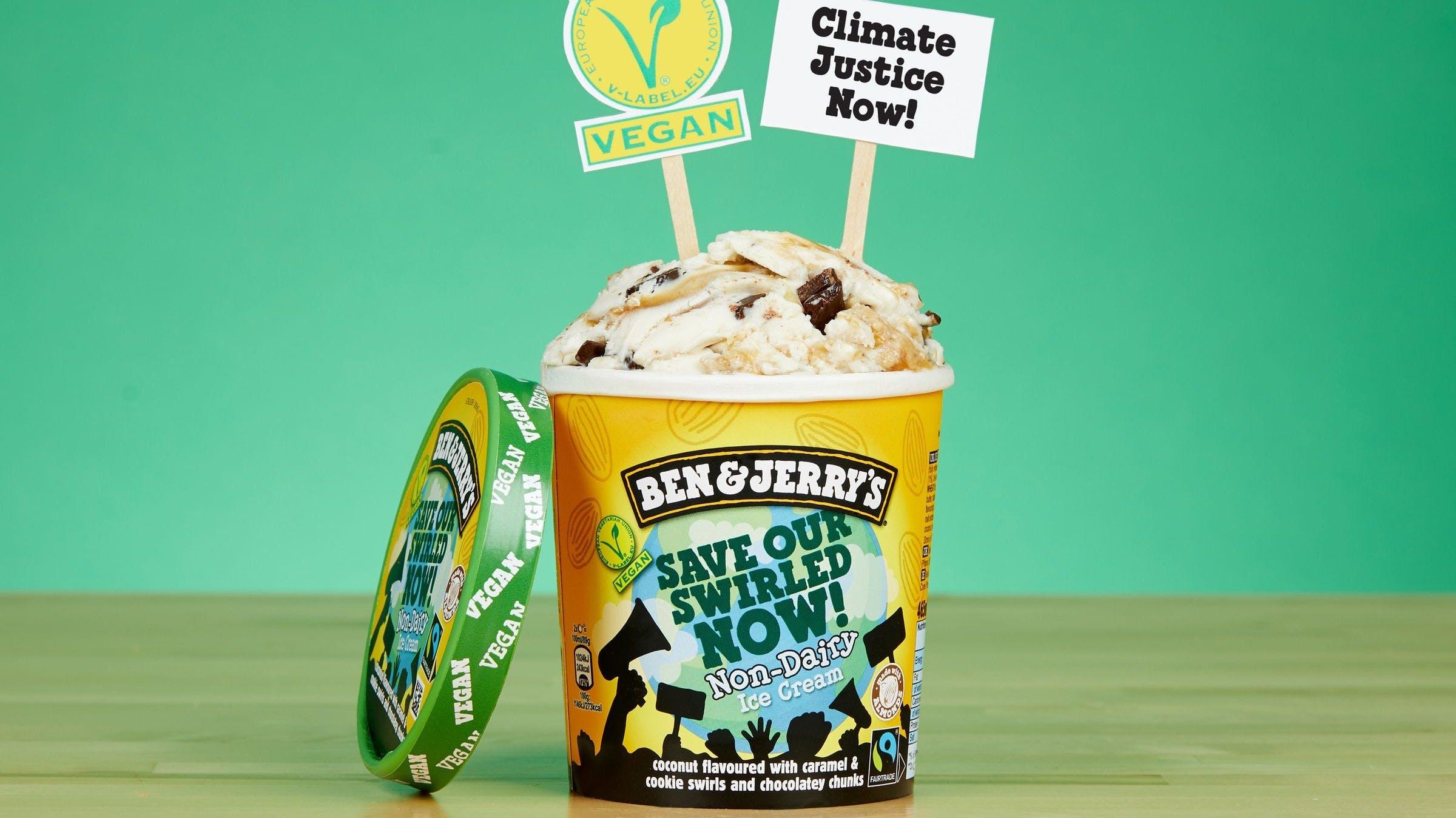ben and jerry's new vegan ice cream