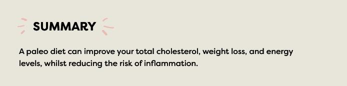 summary of paleo benefits