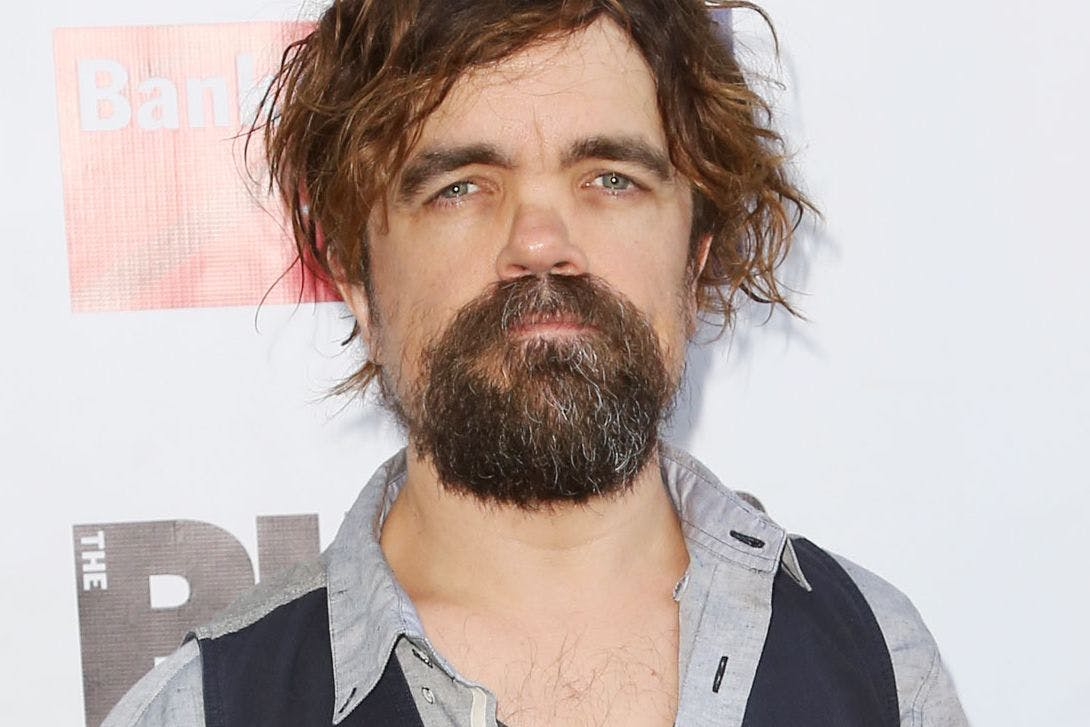peter dinklage on a red carpet