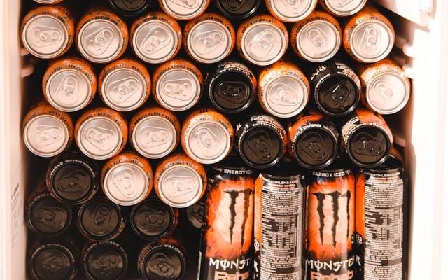 a fridge full of monster