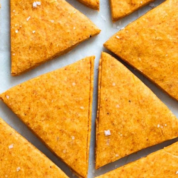 Smoky tortilla chips