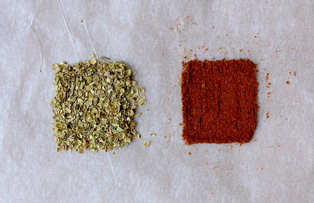 oregano and cayenne