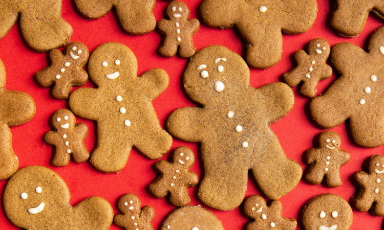 Vegan Gingerbread Biscuits