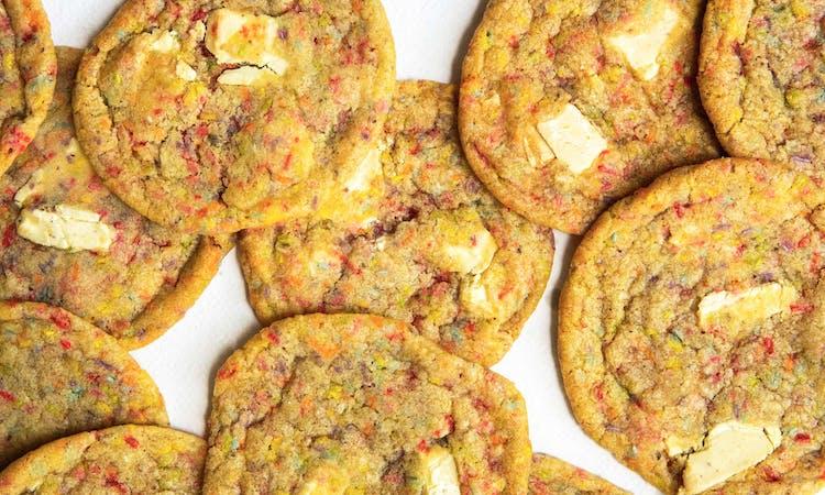 Vegan Birthday Cake Cookies  image