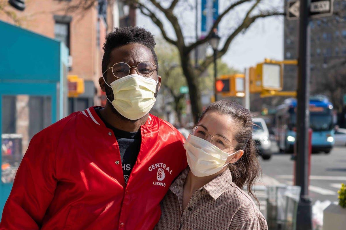 couple masks coronavirus