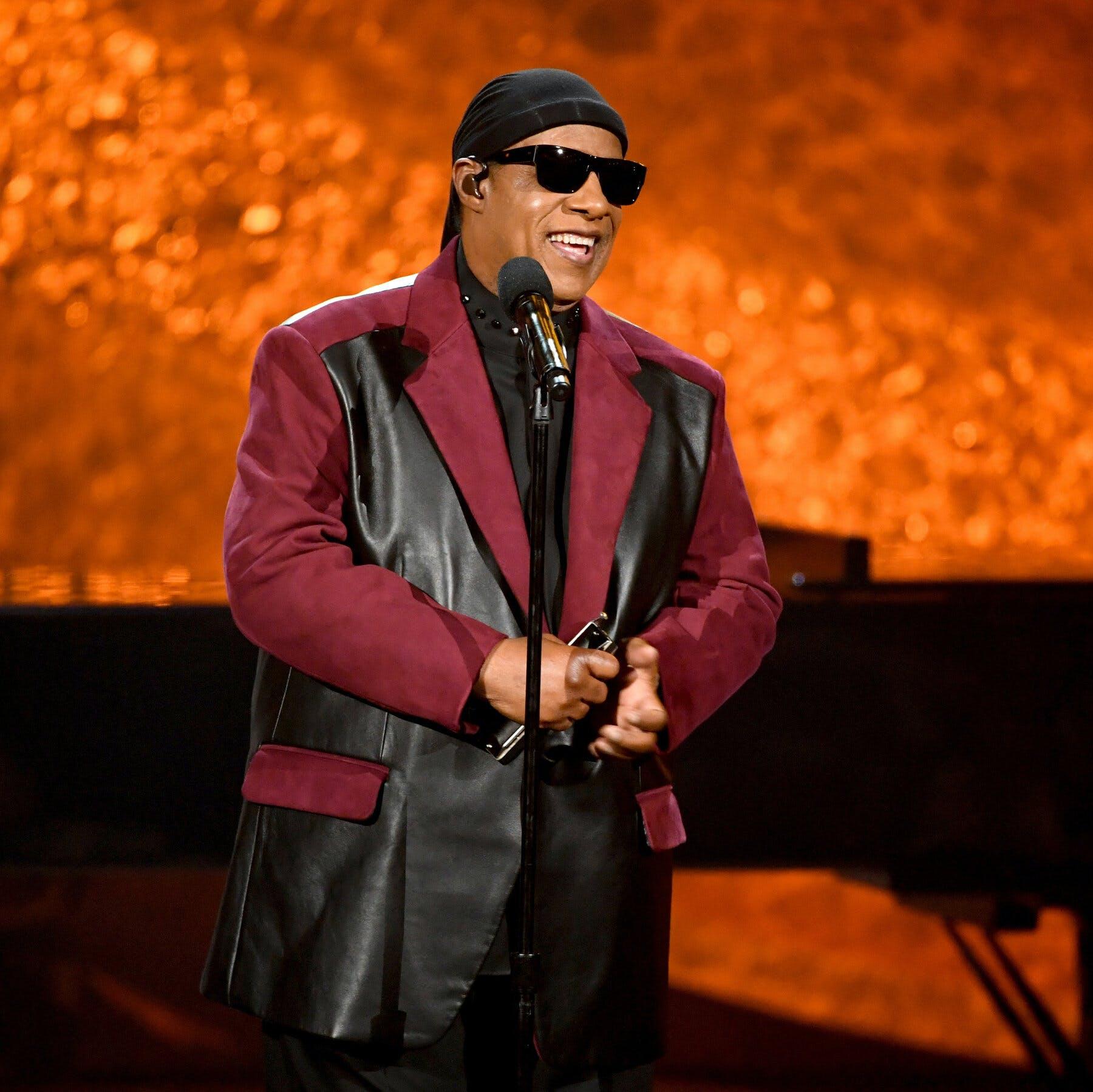 Stevie on stage