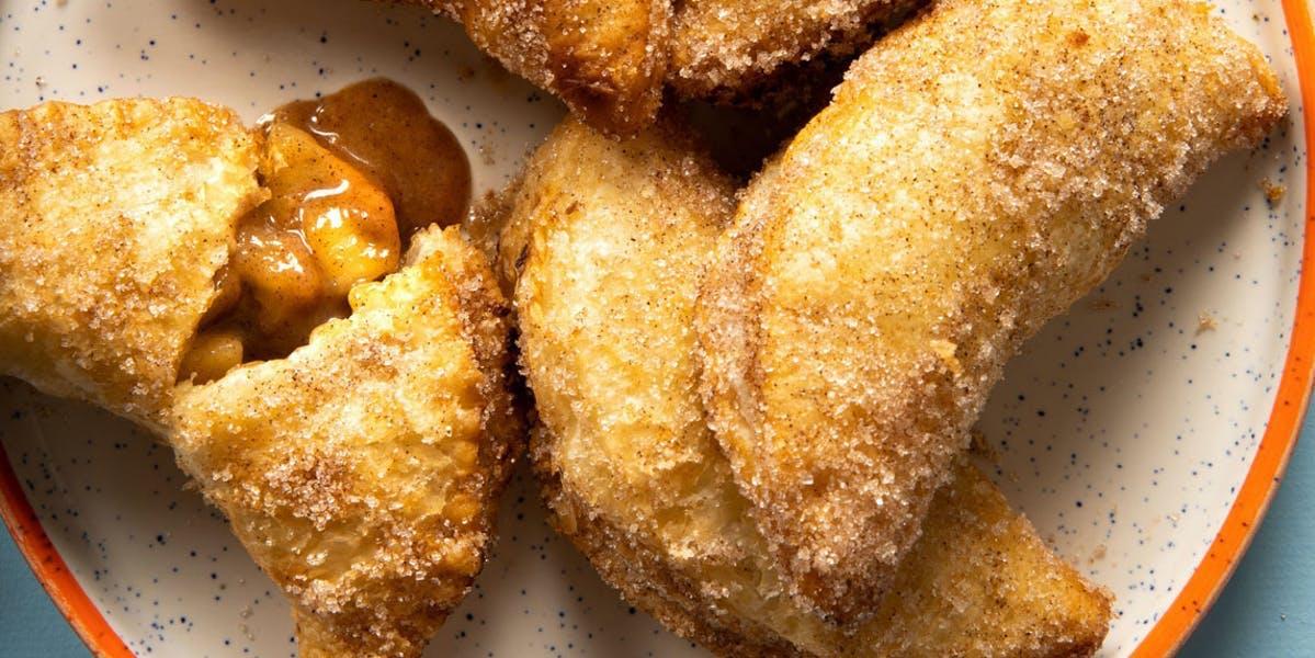 vegan fried apple pie