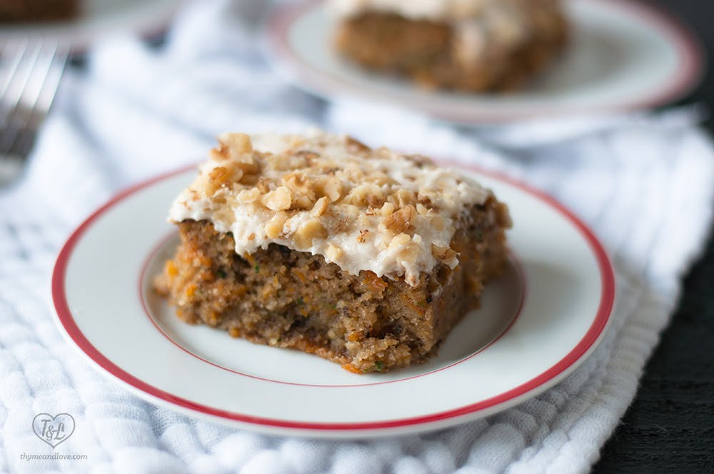 courgette carrot cake