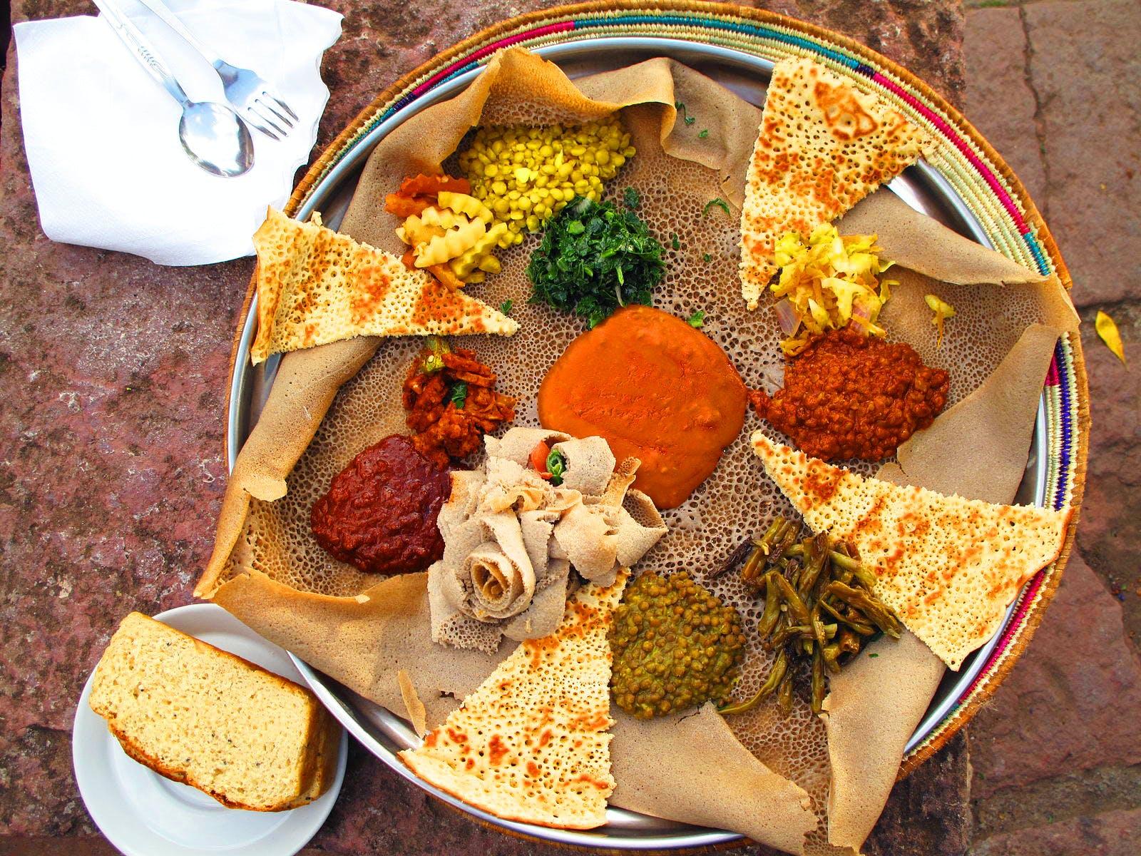 easter fasting vegan meal Ethiopia